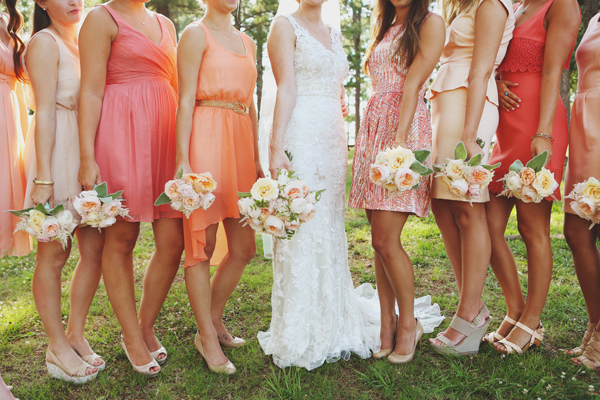 Inspiration for a Fresh peach summer wedding17