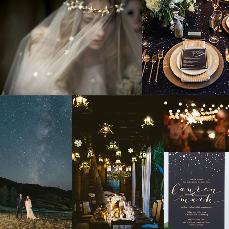 Inspiration for Fantastic Starry Wedding <br />スターリーウェディングのアイデア