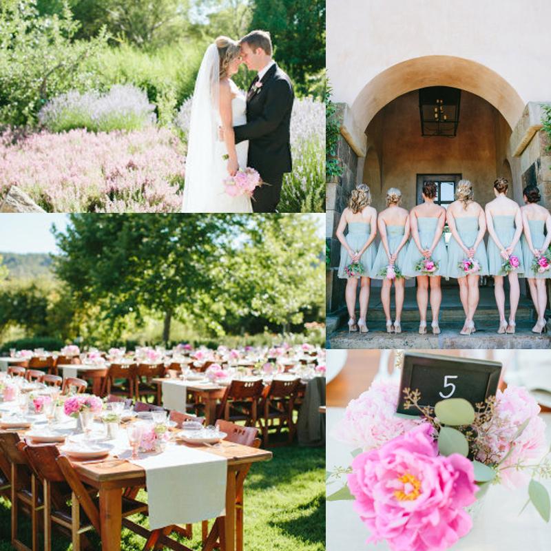 フレッシュなミントとピンクのウェディング<br />Summer Fresh mint & pink color theme wedding ideas