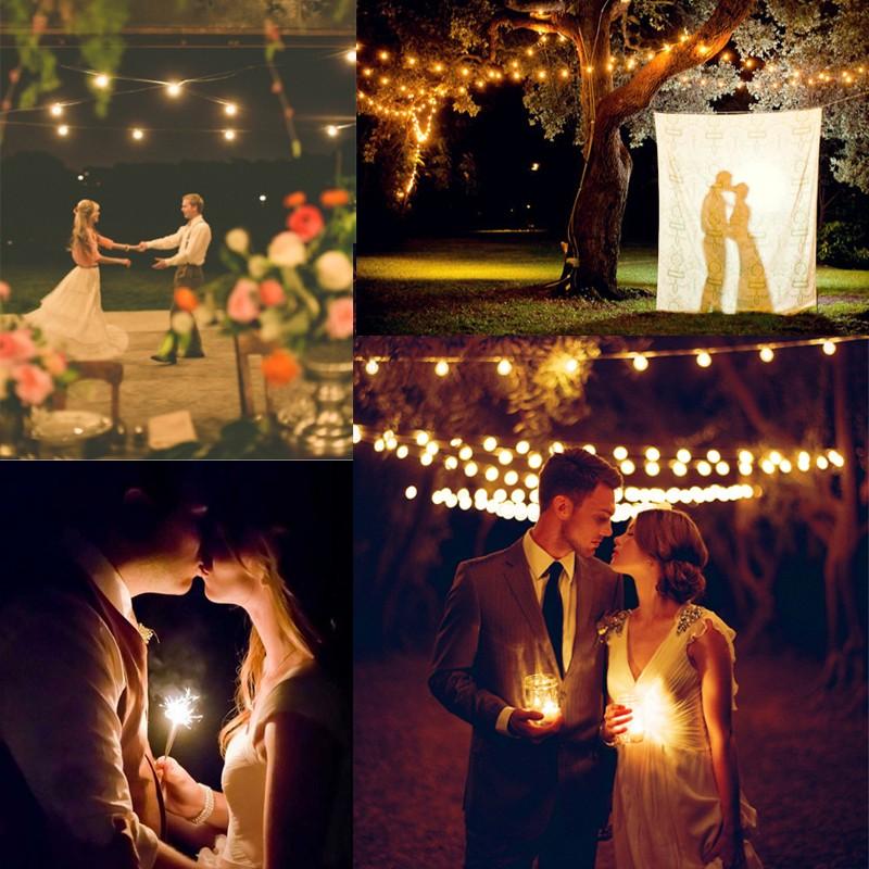 ナイトウェディングフォトのアイデア 20<br />20 Romantic Night Wedding photo ideas