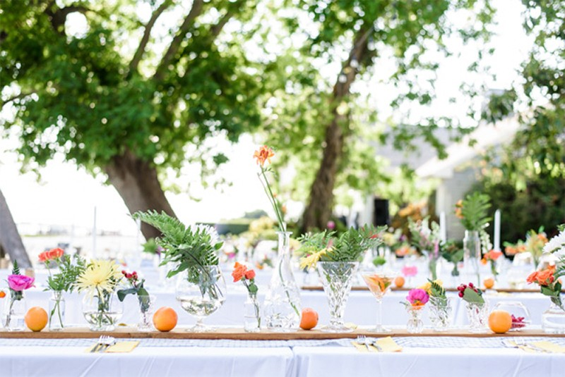 30 Fresh summer citrus color wedding ideas11