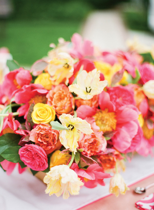 30 Fresh summer citrus color wedding ideas17