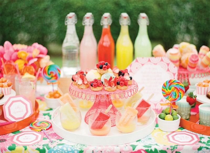 30 Fresh summer citrus color wedding ideas18