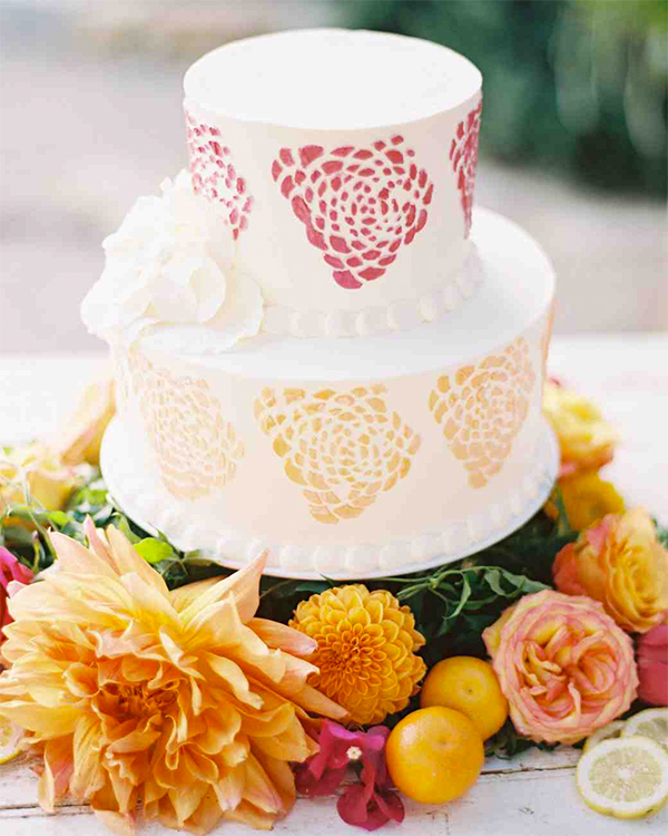 30 Fresh summer citrus color wedding ideas20