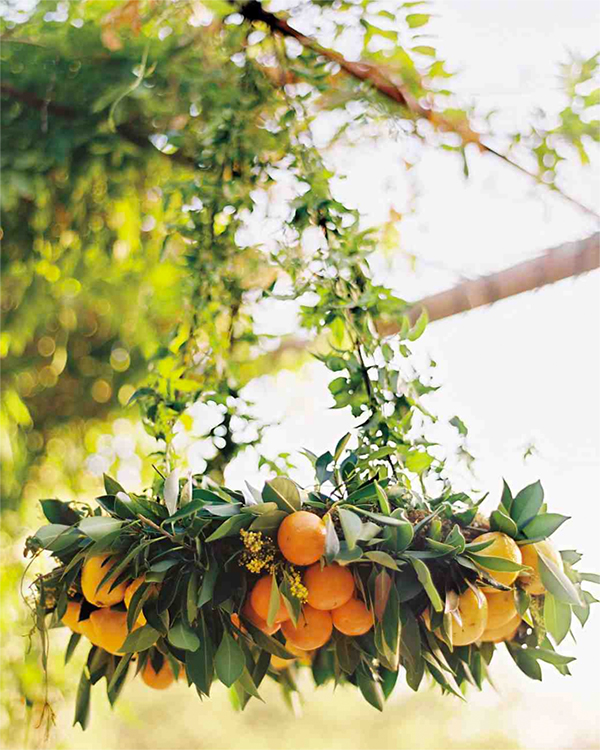 30 Fresh summer citrus color wedding ideas27