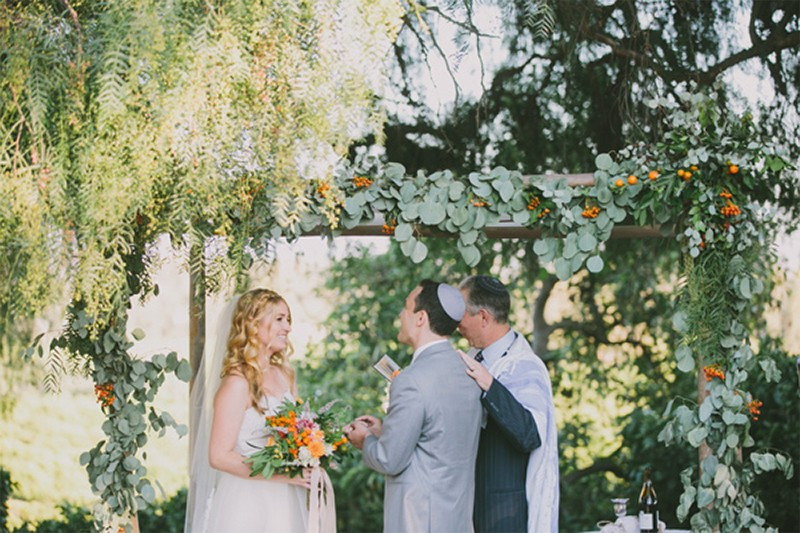 30 Fresh summer citrus color wedding ideas28