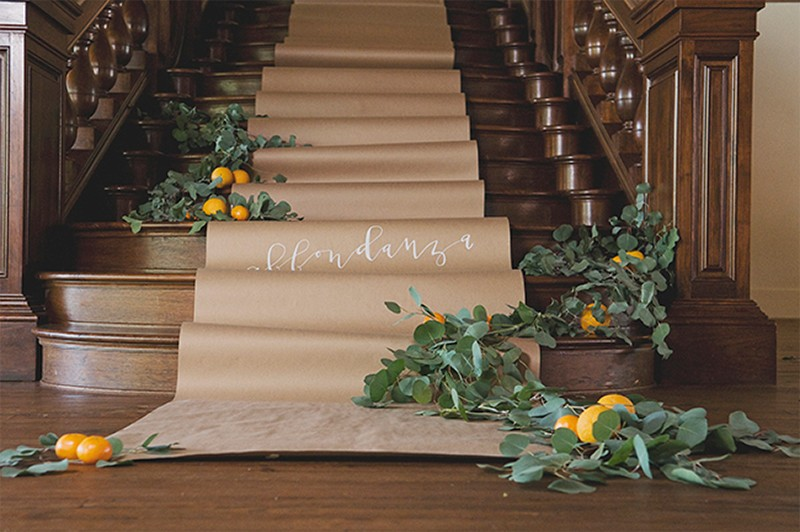 30 Fresh summer citrus color wedding ideas29