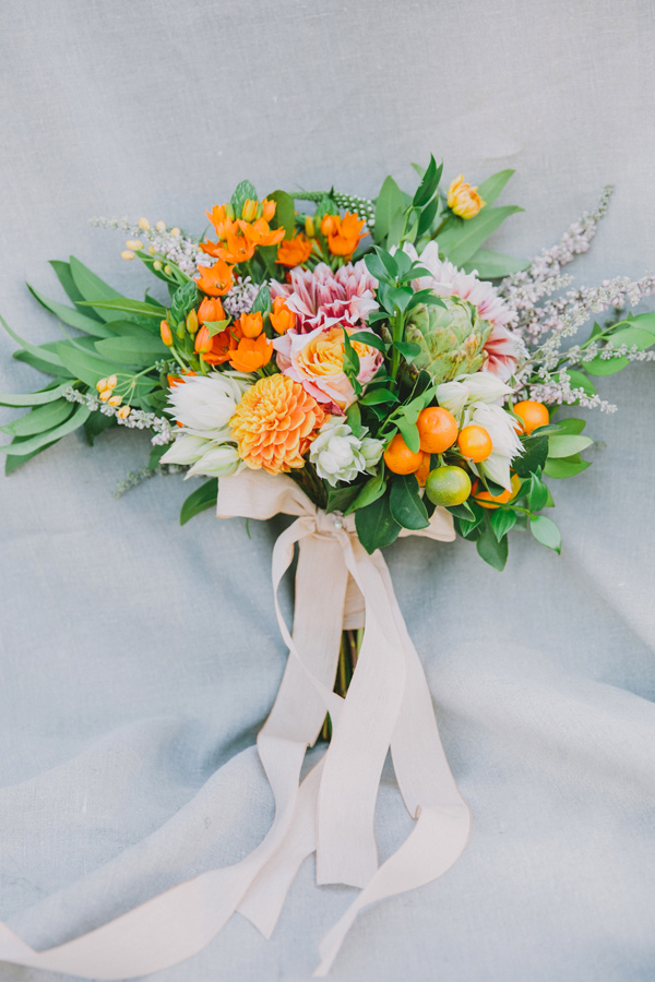 30 Fresh summer citrus color wedding ideas6