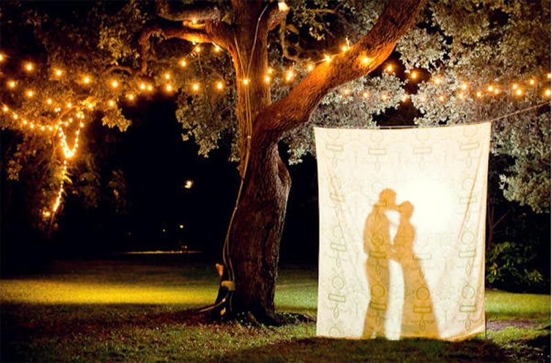 20 Romantic Night Wedding photo ideas6