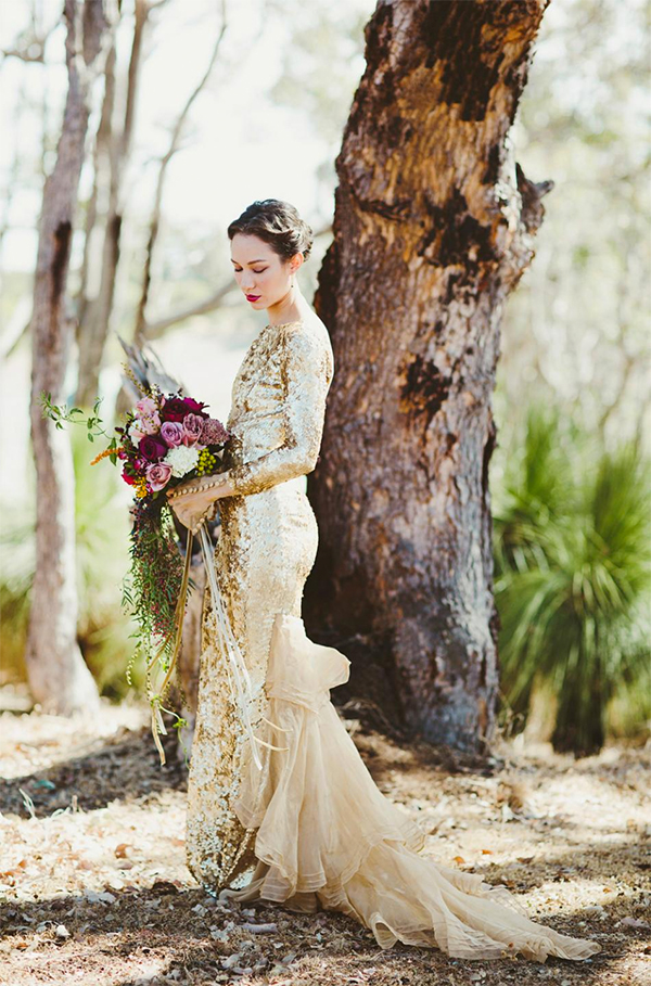 goldweddingdresses6