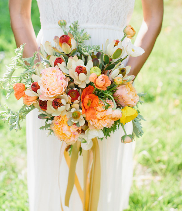 30 Fresh summer citrus color wedding ideas1