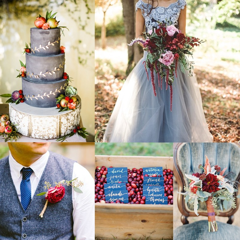 cranberryanddustybluewedding2