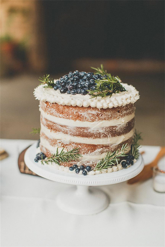 Fall Beautiful Naked Wedding cake ideas21