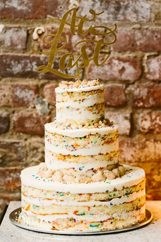 Fall Beautiful Naked Wedding cake ideas26