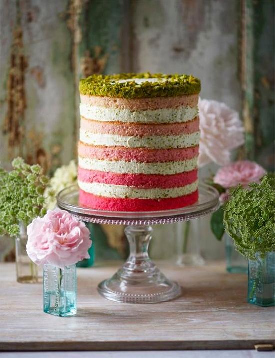 Fall Beautiful Naked Wedding cake ideas28