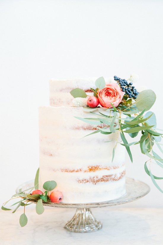 Fall Beautiful Naked Wedding cake ideas 13