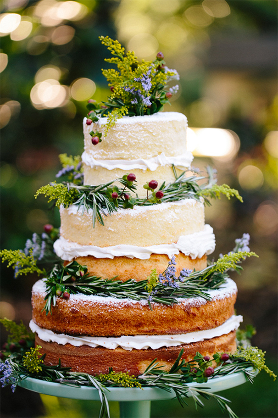 Fall Beautiful Naked Wedding cake ideas 30 4
