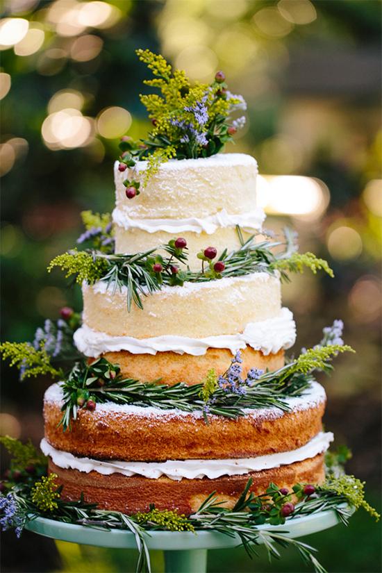 Fall Beautiful Naked Wedding cake ideas 30 4