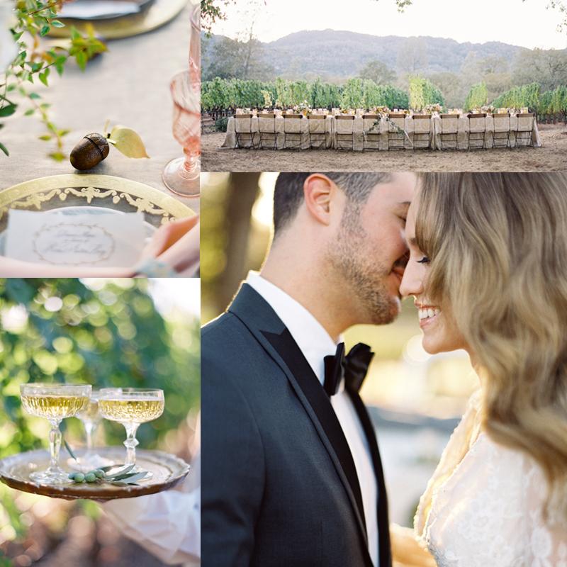 トレンドカラー セレニティブルーとローズクオーツの秋のウェディングのインスピレーションInspiration for Fall Panone Color Wedding