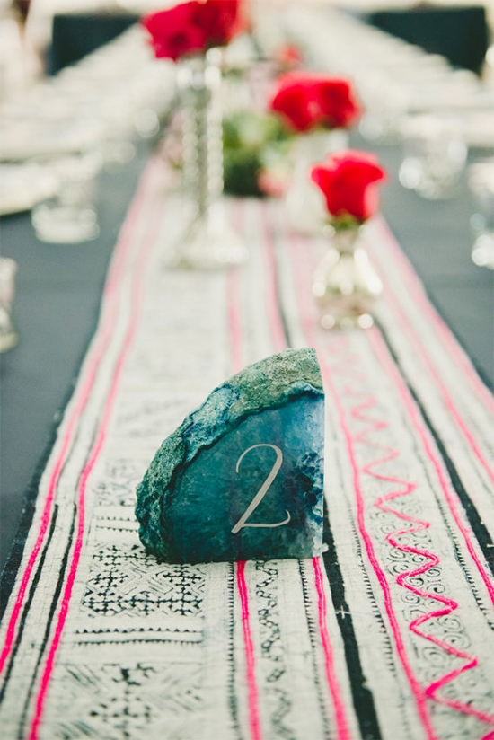 Hottest Wedding Trends! Beautiful Geode & Agate Wedding12