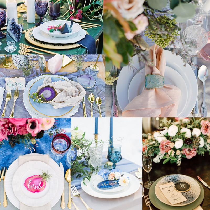 Hottest Wedding Trends! Beautiful Geode & Agate Wedding2