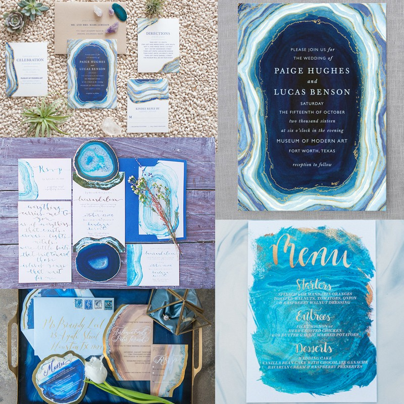 Hottest Wedding Trends! Beautiful Geode & Agate Wedding7