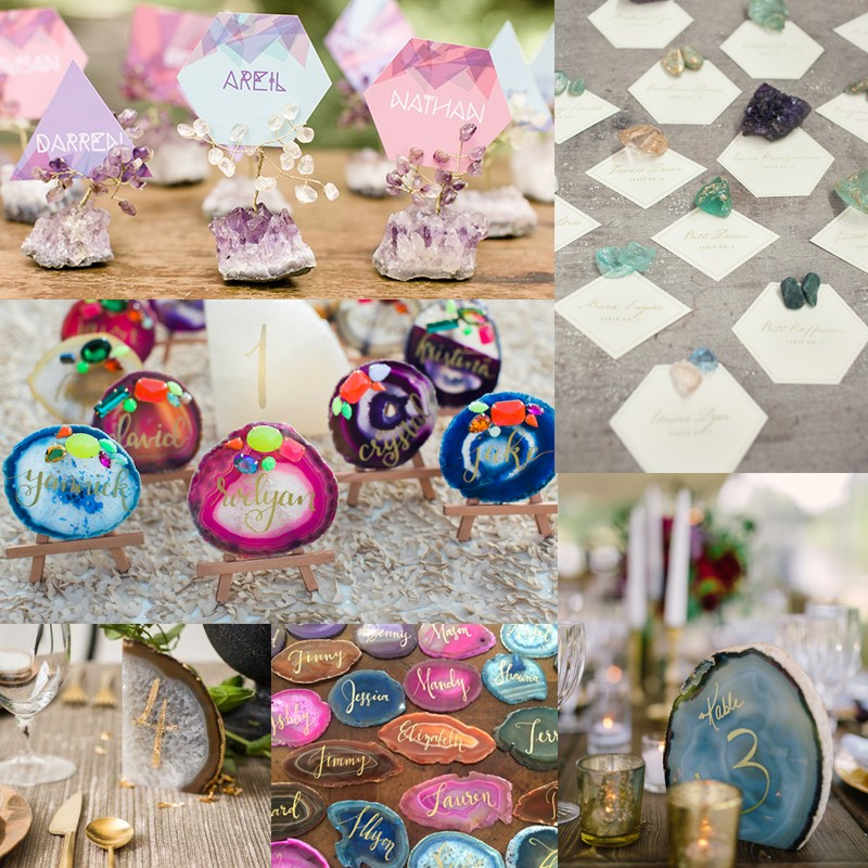 Hottest Wedding Trends! Beautiful Geode & Agate Wedding3