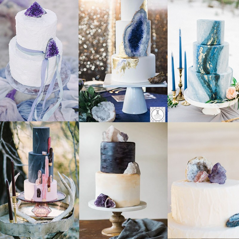 Hottest Wedding Trends! Beautiful Geode & Agate Wedding4