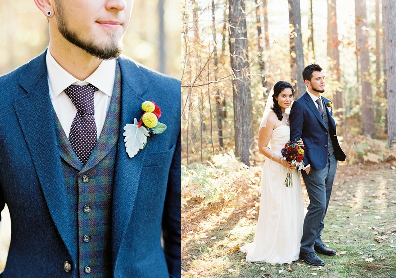 20+ The Ultimate Grooms' Style Guide To Fall Wedding5
