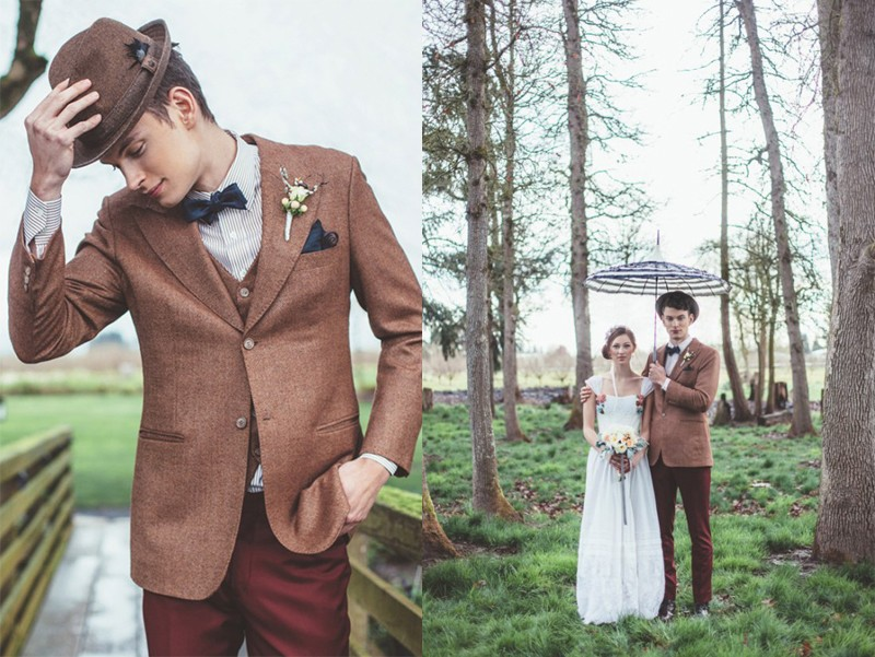 20+ The Ultimate Grooms' Style Guide To Fall Wedding7