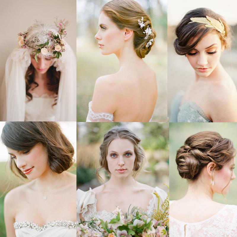 秋から冬の花嫁に おすすめのシックなブライダルヘア<br />Ideas about chic bride hairstyle in fall and winter