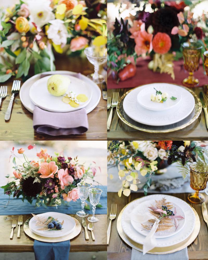 エレガントな秋のフラワーインスピレーション<br />Elegant Fall Floral Inspiration From Workshop
