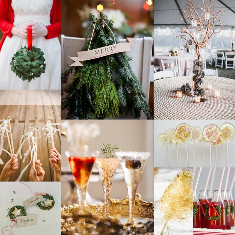 素敵なクリスマスのオリジナルウェディングの為に クリスマスウェディングを盛り上げる素敵なアイデア 30<br />30 Unique Ideas for a Christmas Wedding