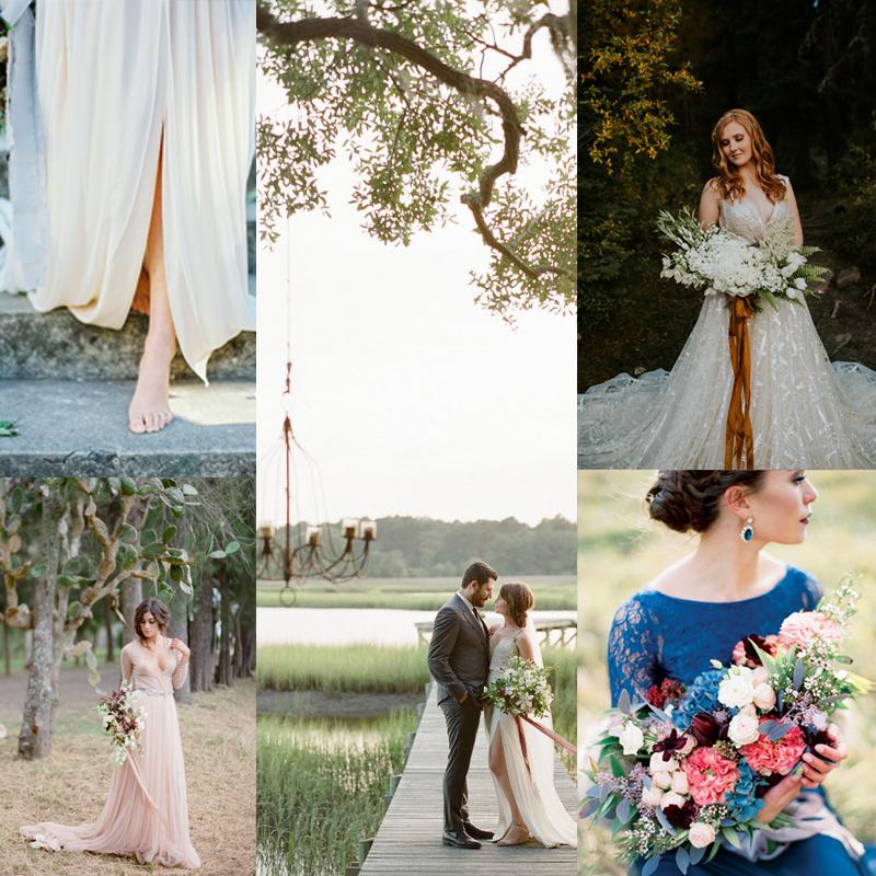 シックでロマンティックな2016年秋のオリジナルウェディングカラーインスピレーション <br />Chic and Romantic Fall Wedding Color Inspiration 2016