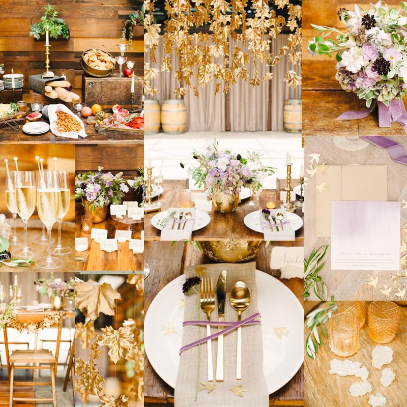 2016-2017 秋から冬,春にむけておすすめのオリジナルウェディングテーマのアイデア1 GOLD <br />2016-2017 Beautiful Wedding Theme Ideas Fall for Winter 1