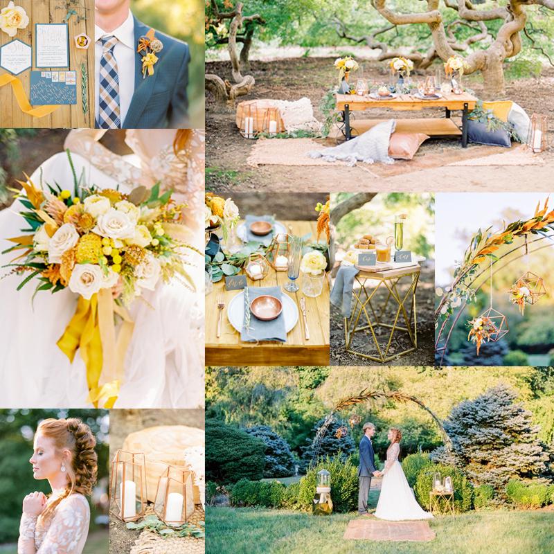 2016-2017 秋から冬,春にむけておすすめのオリジナルウェディングテーマのアイデア2 COPPER <br />2016-2017 Beautiful Wedding Theme Ideas Fall for Winter 2