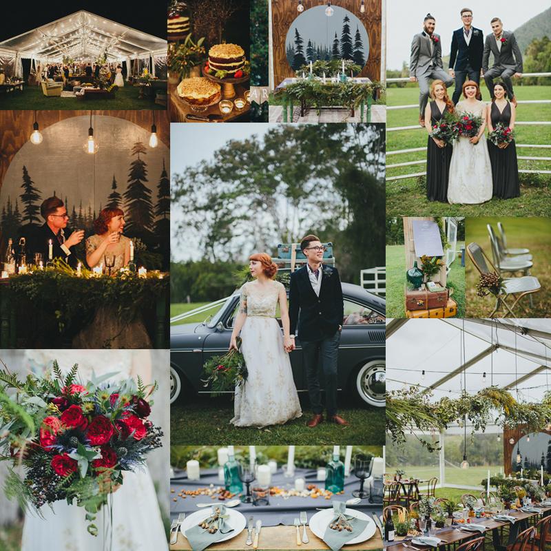 2016-2017 秋から冬,春にむけておすすめのウェディングテーマのアイデア5 Tent & Greenery(グリーナリー)<br />2016-2017 Beautiful Wedding Theme Ideas Fall for Winter 5