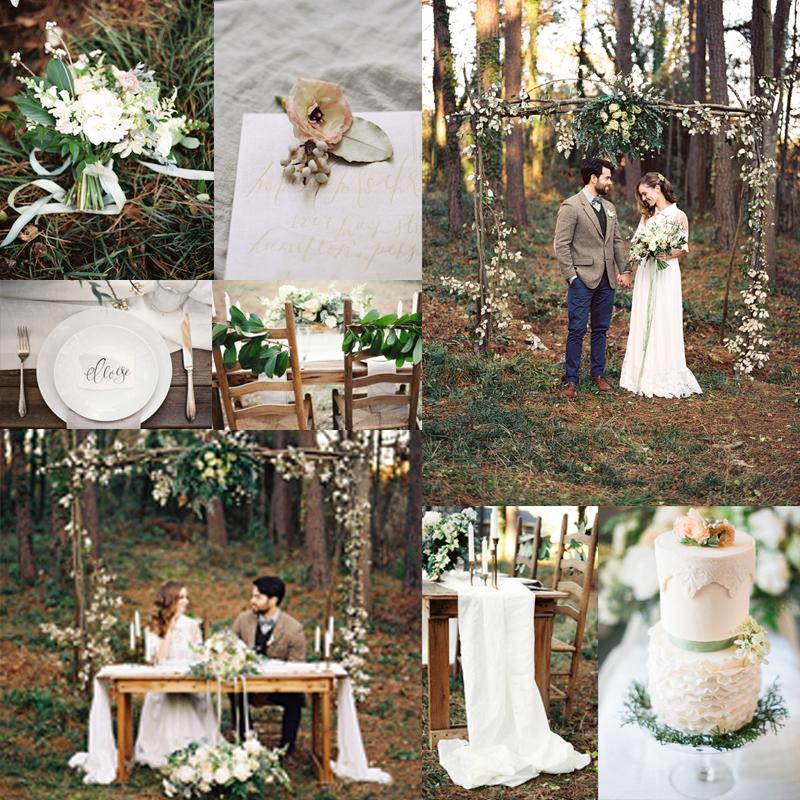 2016-2017 秋から冬,春にむけておすすめのオリジナルウェディングテーマのアイデア6 Vintage Natural<br />2016-2017 Beautiful Wedding Theme Ideas Fall for Winter 6
