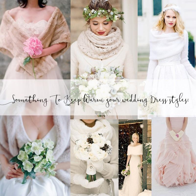 絶対に参考になる冬のウェディングのアイデア 海外風のおしゃれなウィンターウェディングのまとめ ファッション編<br />Warm And Cozy Romantic Winter Wedding Details 1