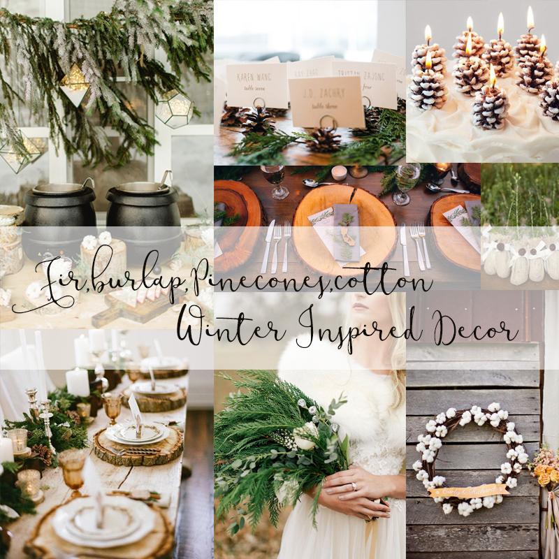 絶対に参考になる冬のウェディングのアイデア 海外風のおしゃれなウィンターウェディングのまとめ 冬のデコレーション編<br />Romantic Winter Wedding Decor