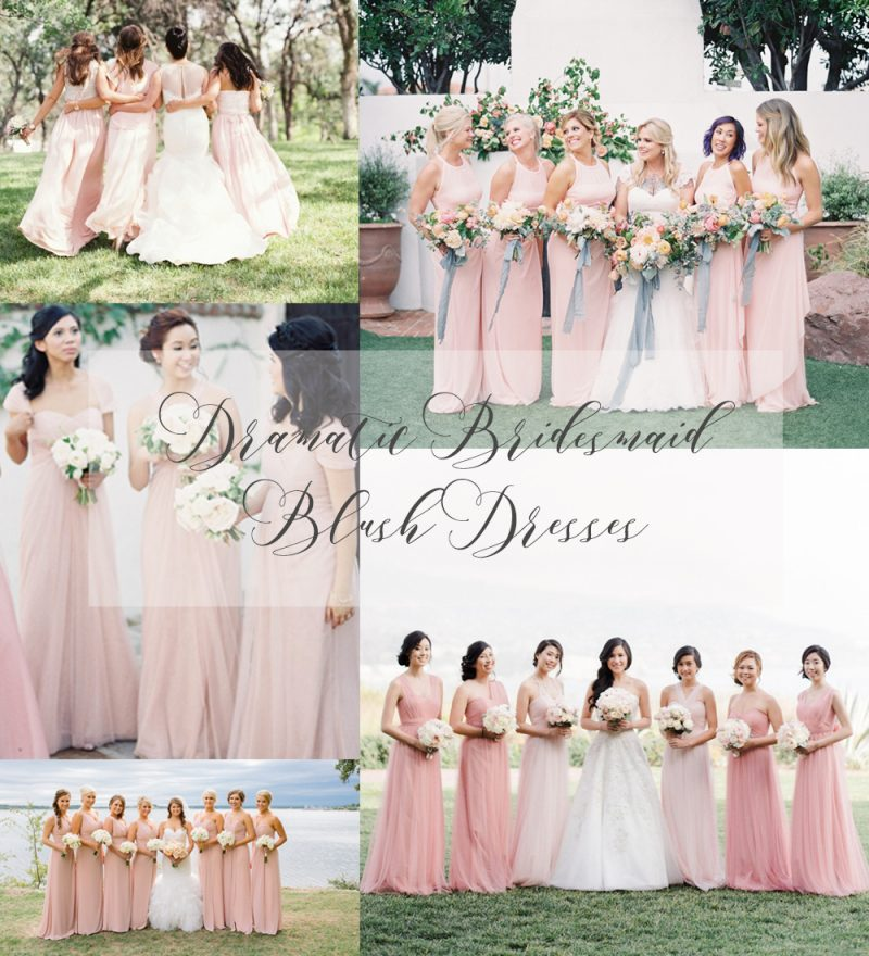 Romantic Blush Wedding Dresses For The Spring Bride