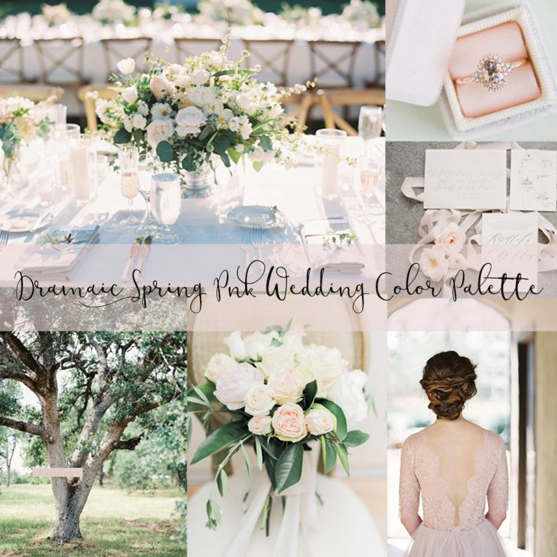 Elegant Spring Garden Wedding With Blush