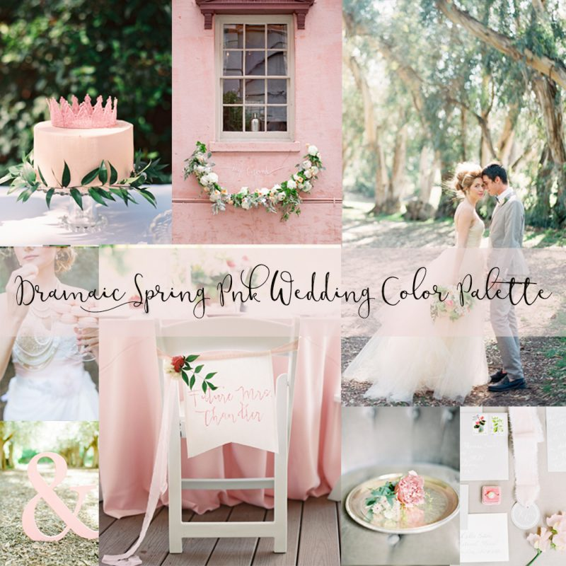 The Prettiest Spring Rose Pink Wedding