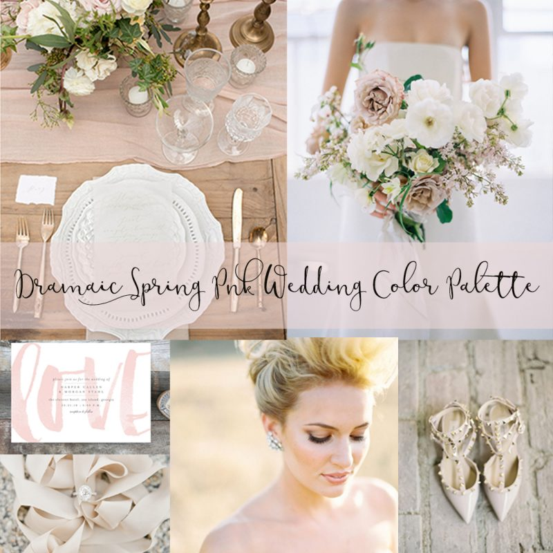 GLAMOROUS + ROMANTIC Dusty Pink Spring Wedding