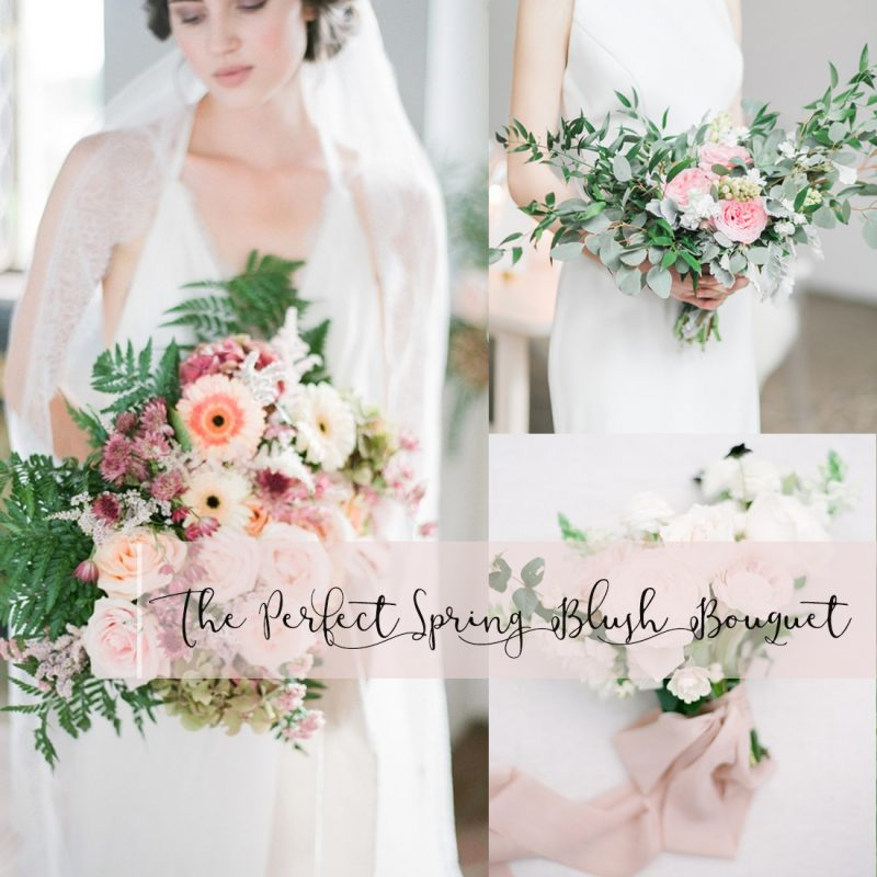 The Perfect Spring Blush Bouquet