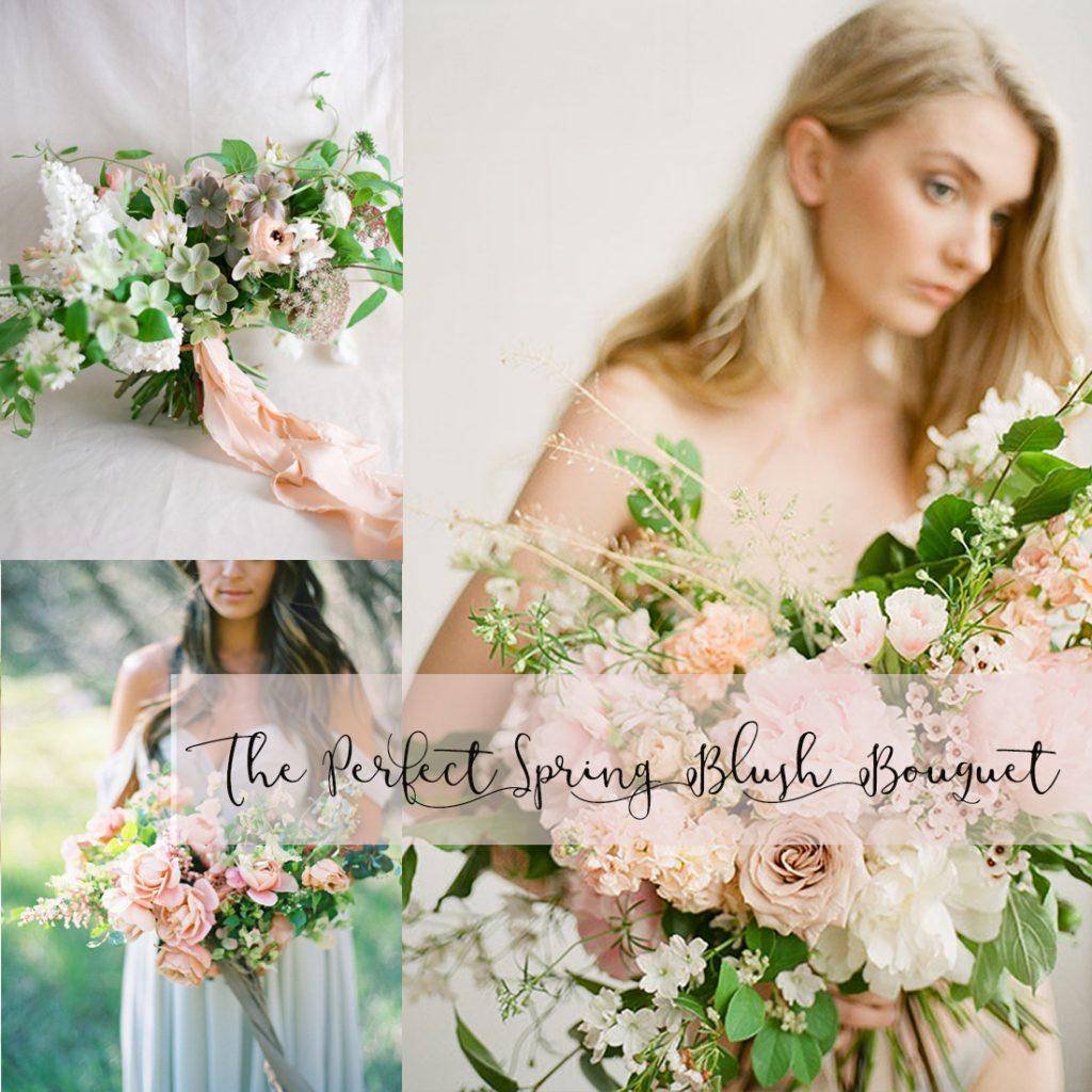 春から夏におすすめのブラッシュトレンドのブーケ<br />The Perfect Spring Blush Bouquet